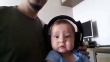 Hayatında ilk defa dinledi!