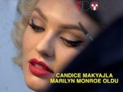 Candice Swanepoel Marilyn Monroe oldu