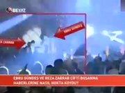 Ebru Gündeş, Reza Zarrab'la öpüşürken yakalandı