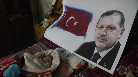 """Gazzeli bebeğe """"Recep Tayyip Erdoğan"""" ismi"""