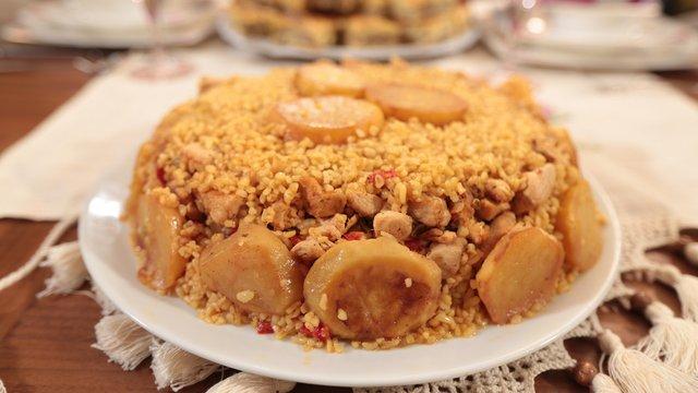 Patatesli Tavuklu Bulgur