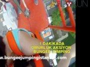Bir dakikada bir ömürlük aksiyon: Bungee Jumping