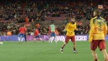 Barcelona, Arda Turan'ın ilk maçının öyküsünü yayınladı