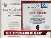 Sahte diploma nasıl anlışır?