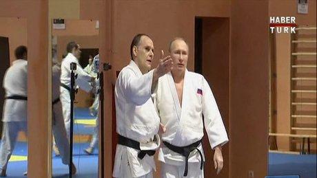 Putin Judo minderinde