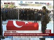 Şehit polisin cenaze töreni yapıldı