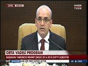 Bakan Şimşek Orta Vadeli programı açıkladı