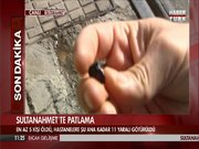 Sultanahmet Meydanı'nda olay yeri incelemeleri