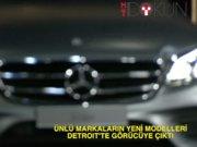 Detroit Auto Show Fuarı'nda 'ünlüler' geçidi