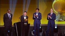 FİFA 2015 ödülleri verildi