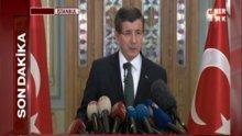 Başbakan Davutoğlu'ndan terör açıklaması - 1.Bölüm