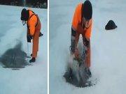 Balık kurtarma operasyonu