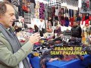 Le Pain'in Fransız şefi semt pazarında