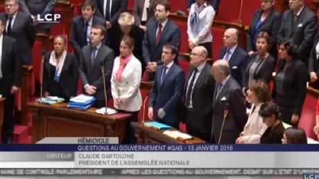 Fransız Parlamentosunda İstanbul terör saldırısı için 1 dakikalık saygı duruşu
