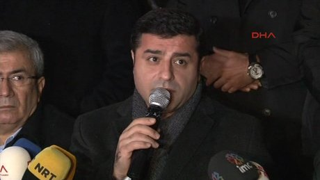 Demirtaş'tan Çınar açıklaması
