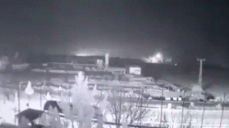 Çınar'daki patlamanın görüntüleri ortaya çıktı