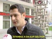 İstanbul'a da kar geliyor