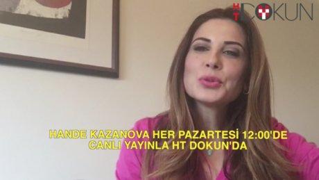 Hande Kazanova canlı yayını 18 Ocak 2016