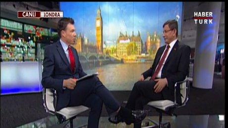 Başbakan Davutoğlu Bloomberg Internatıonal yayınında soruları yanıtladı
