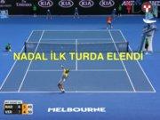 Nadal ilk turda havlu attı