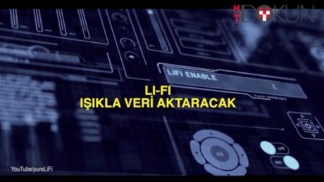 Wi-Fi'ın yerine Li-fi