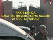 Baça Han Üniversitesi'ne saldırı: 21 ölü 60 yaralı