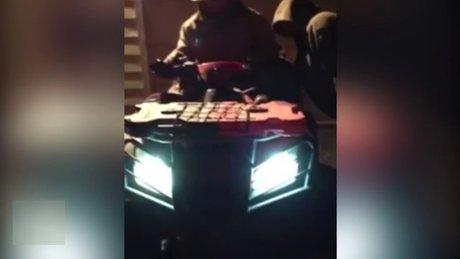 Sarhoş atv şoförü