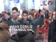 Aras Özbiliz İstanbul'da