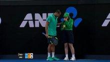Ünlü tenisçiden örnek davranış