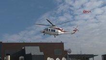 Mustafa Koç'u taşıyan helikopter