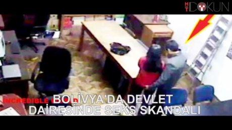 Devlet dairesinde seks skandalı