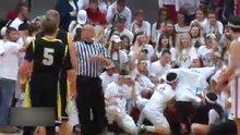 Basketbol maçında mizansen yaptılar!