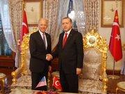 Erdoğan, Biden'ı kabul etti