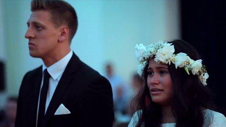 Düğünde süpriz haka dansı