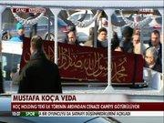 Mustafa Koç için ilk tören