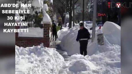 Kar, ABD'de 30 can aldı