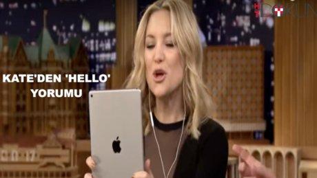 Kate Hudson'dan Adele yorumu