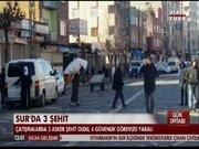Diyarbakır Sur'da 3 asker şehit oldu, 3 asker yaralandı