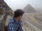 Piramitlerde selfie