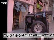 Rüzgar Çetin'in 2006'da yaptığı kaza