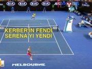 Angelique Kerber, Serena'yı yenerek şampiyon oldu