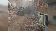 Diyarbakır Sur'daki şiddetli çatışmalar kameralara böyle yansıdı