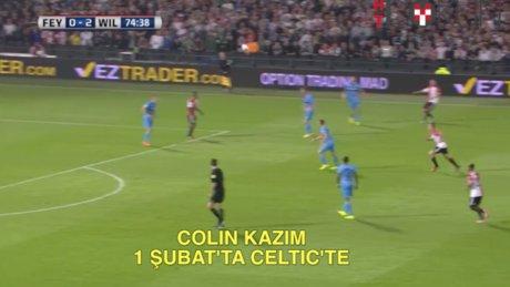 Colin Kazım İskoçya yolcusu