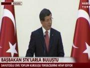 Başbakan Davutoğlu STK'larla buluştu - 2.Bölüm