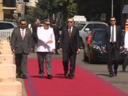 Cumhurbaşkanı Erdoğan Şili'de resmi törenle karşılandı