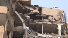 Şanlıurfa'da yıkımda göçük