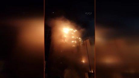 Mekke'de Türklerin kaldığı otelde yangın