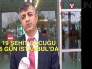 19 şehit çocuğu 5 gün İstanbul'da
