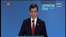Londra'da Suriye toplantısı