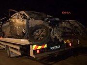 Eskşehir'de 2 otomobil kavşakta çarpıştı: 3 ölü, 5 yaralı